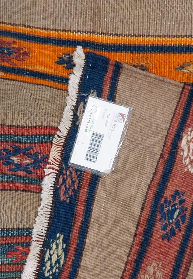 Kilim turco cm215x158 tea tappeti for Turco arredamenti