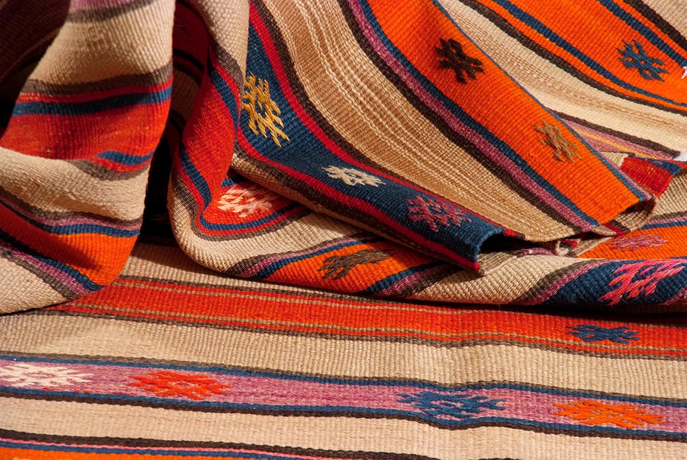 Tappeti Kilim Moderni : Tappeto kilim turco moderno decorativo senape etsy
