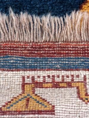 Gabbeh persiano cm 264×227