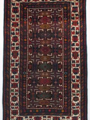 Kuba caucasico antico, cm 197×120