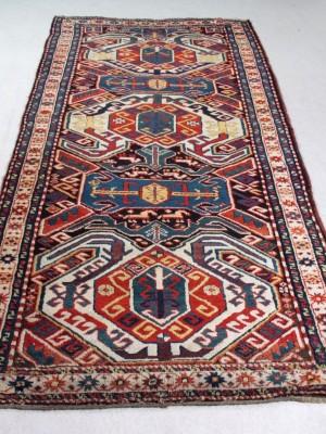 Lenkoran caucasico antico, cm 290×119