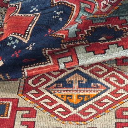Kazak Lori Pampak Caucasico Antico, cm 205x131
