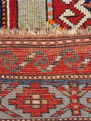 Kazak Lori Pampak Caucasico Antico, cm 205×131