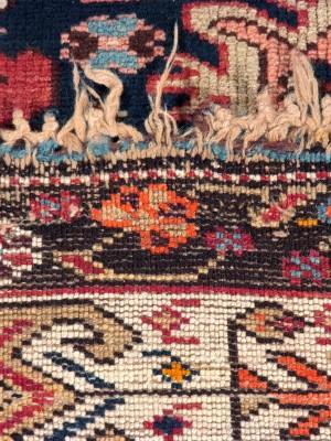 Kuba Derbent caucasico antico, cm 273×160