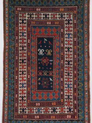 Kazak Bordjalou caucasico antico  cm 213×128