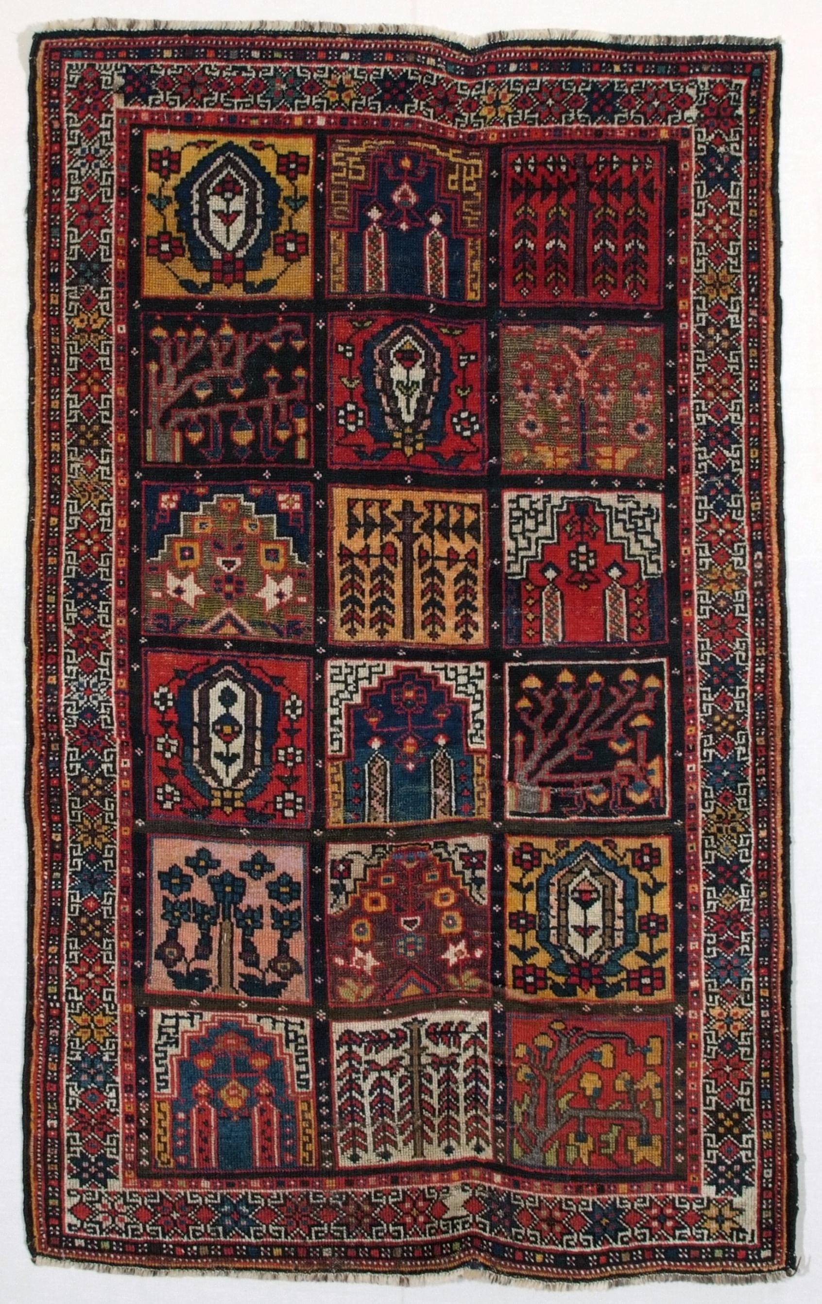 Bakhtiari bibi baf persiano antico cm 200x120 tea tappeti - Tea tappeti roma ...
