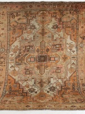 Heriz persiano antico cm 349×280