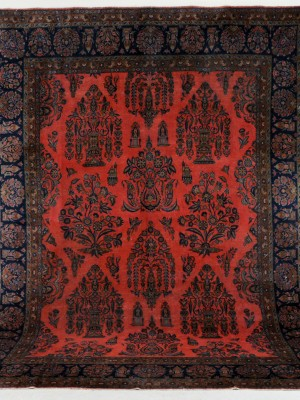 Kashan Manchester persiano antico cm 355×267