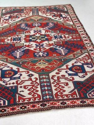 Khasim Ushak Karabagh Caucasico antico cm 240×140