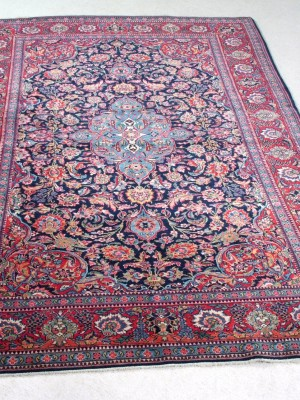 Kashan Persiano antico cm  218×133