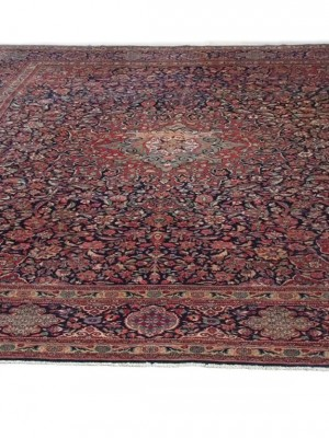 Kashan persiano antico cm 360×263