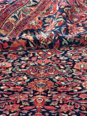 Kashan persiano antico cm 360x263