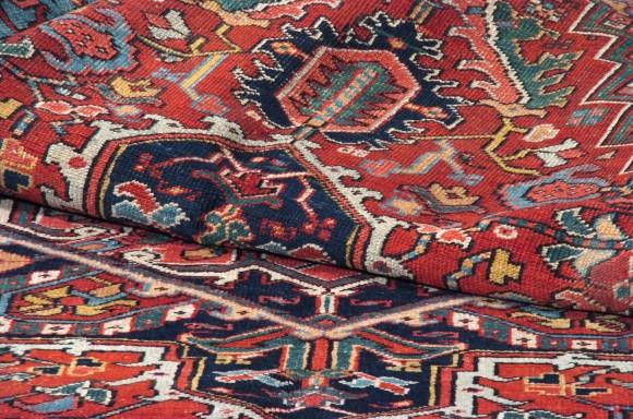 Heriz Persiano Antico cm 312x22