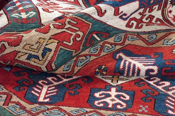 Khasim Ushak Karabagh caucasico antico cm 240x140
