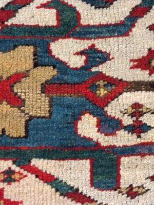 Karabagh Chelaberd caucasico antico cm 212×156
