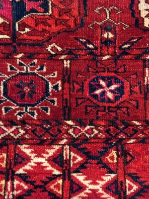 Bukhara Tekke antico cm 190×115
