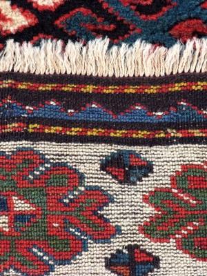 Kazak Bordjalou caucasico  antico cm 240×127