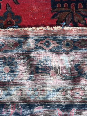 Kashan Manchester persiano antico cm 355×267