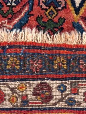Bijar persiano antico cm 365×225