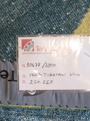 Tappeto Moderno Indo Tibetan Silk cm 250×250